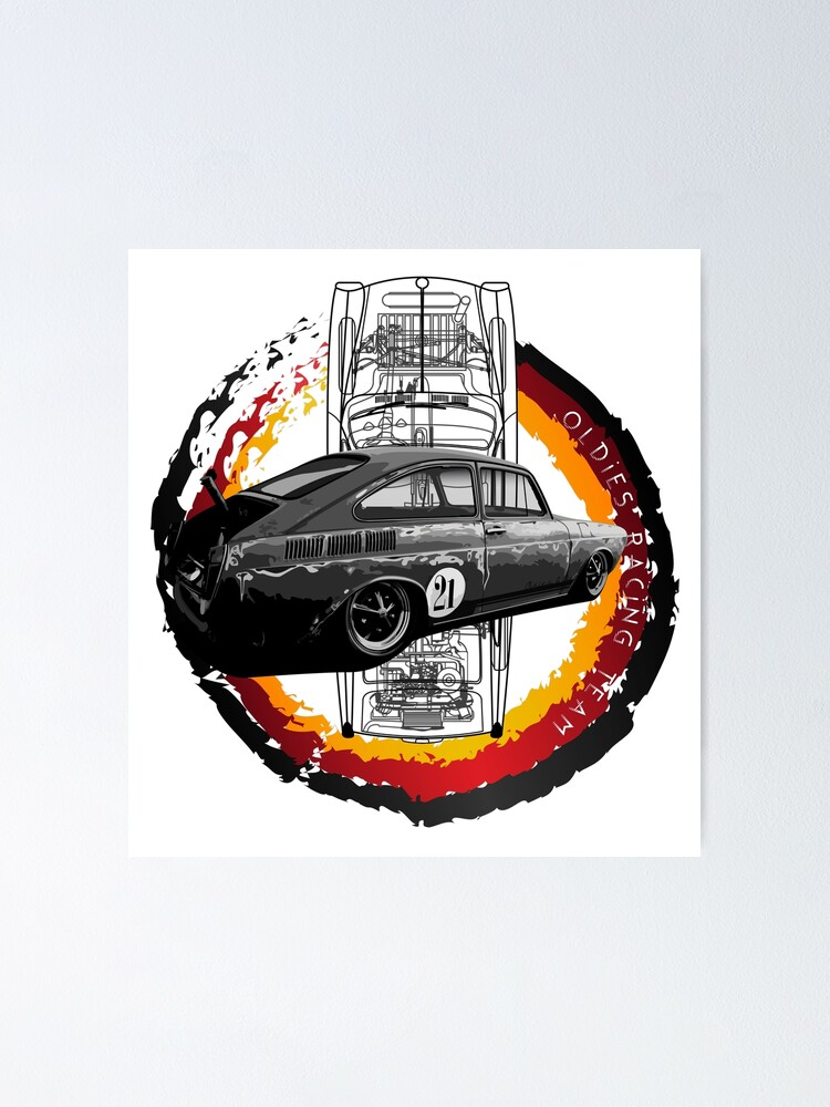 Alternate view of Fast aircooled Poster