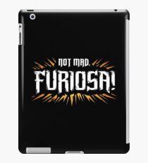 Not Mad iPad Case/Skin