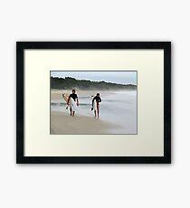 Surfer Love  Framed Print
