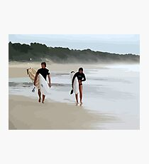 Surfer Love  Photographic Print