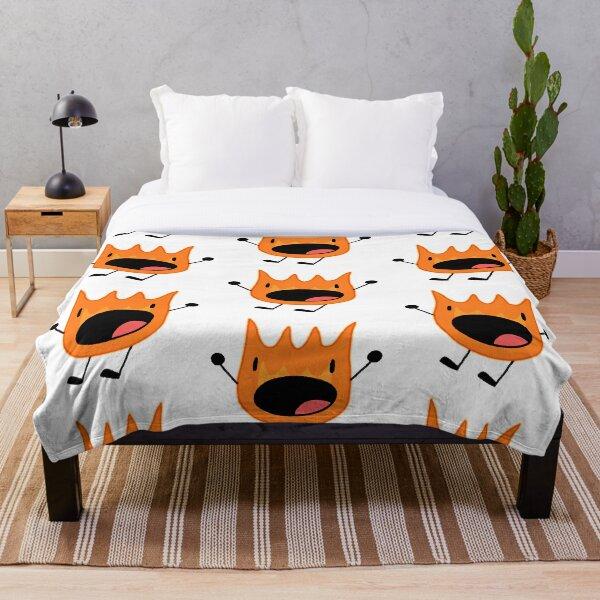 Firey scream Throw Blanket