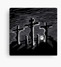 Kreuzigung - The Biggest Fight Canvas Print