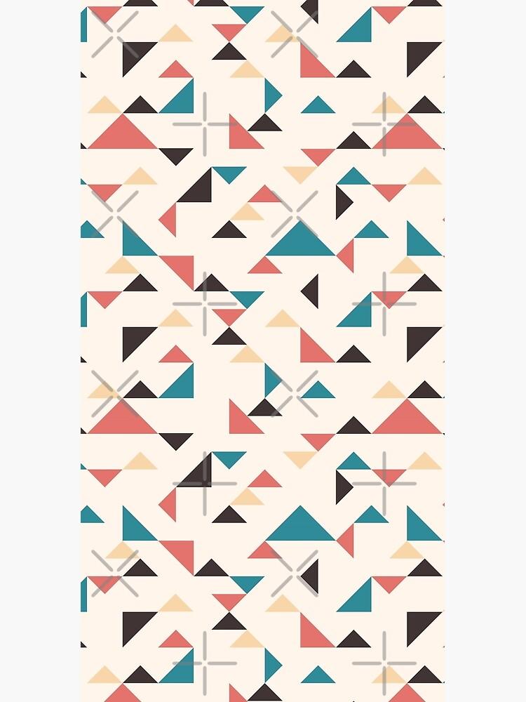 Terrazzo Triangles by nadyanadya