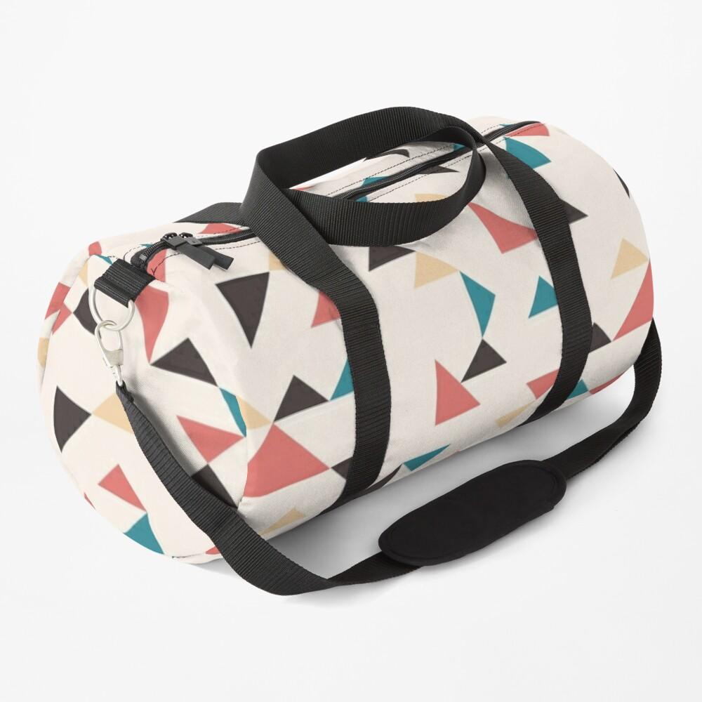 Terrazzo Triangles Duffle Bag