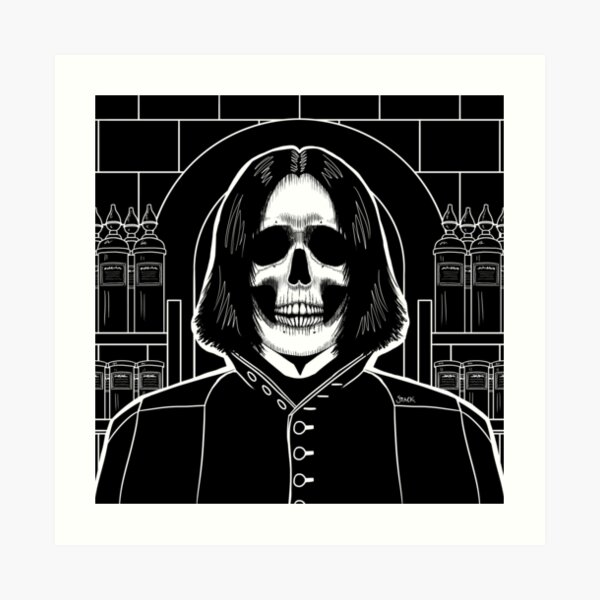 Snape (Stack's Skull Sunday) Art Print