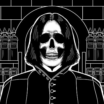 Snape (Stack's Skull Sunday) by Stack
