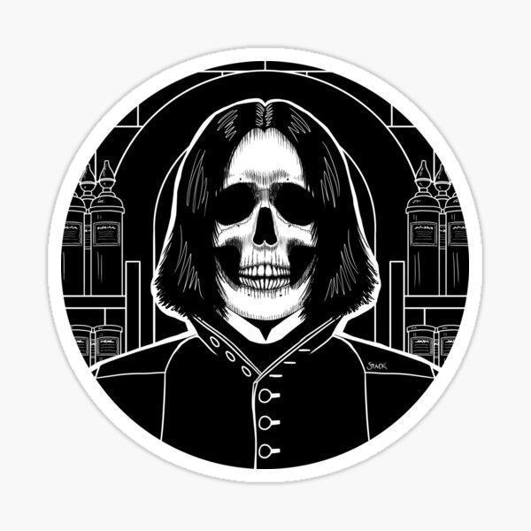Snape (Stack's Skull Sunday) Sticker