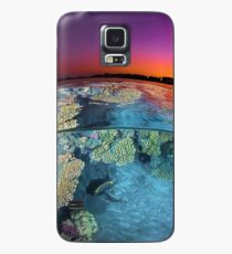 Dusk at the Red Sea Reef Case/Skin for Samsung Galaxy