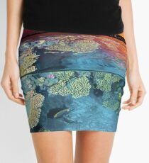 Dusk at the Red Sea Reef Mini Skirt