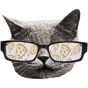 Pizza Cat by Bebatis