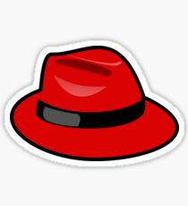 Red fedora - Where is Carmen? Sticker