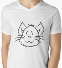 face head sweet cute kitten fluffy fur T-Shirt