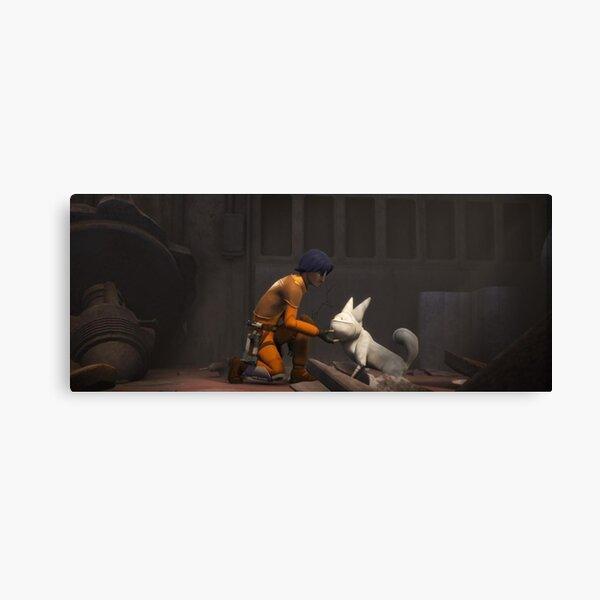 SW Rebels Background: Ezra Canvas Print