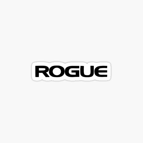 rogue fitness logo weightlifting  Sticker