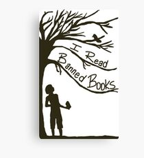 I Read Banned Books Canvas Print