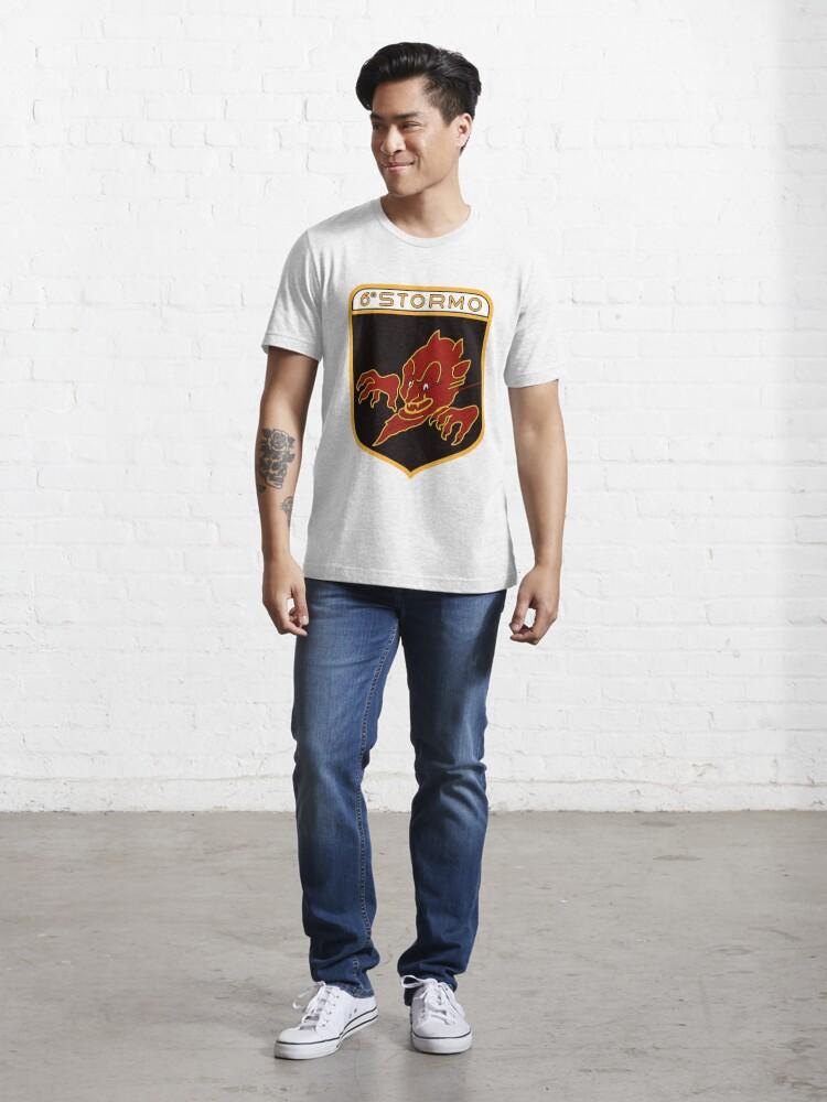 Alternate view of Model 125 - 6º Stormo Essential T-Shirt