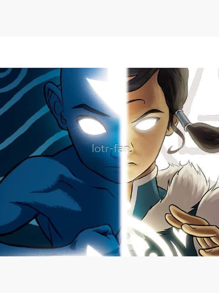 Avatar: Aang & Korra by lotr-fan