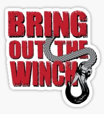Bring out the winch! Sticker