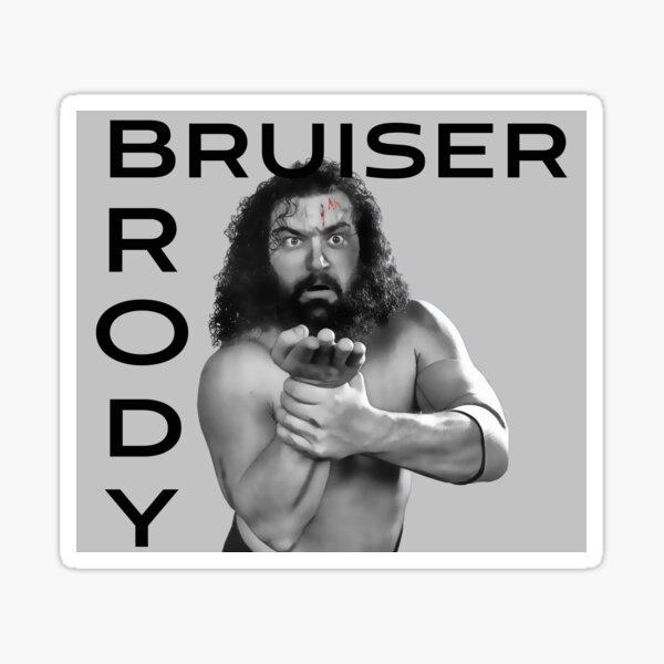 Bruiser Brody Tribute Sticker