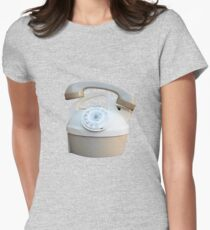Kettle Phone by Zorro Gamarnik Womens Fitted T-Shirt