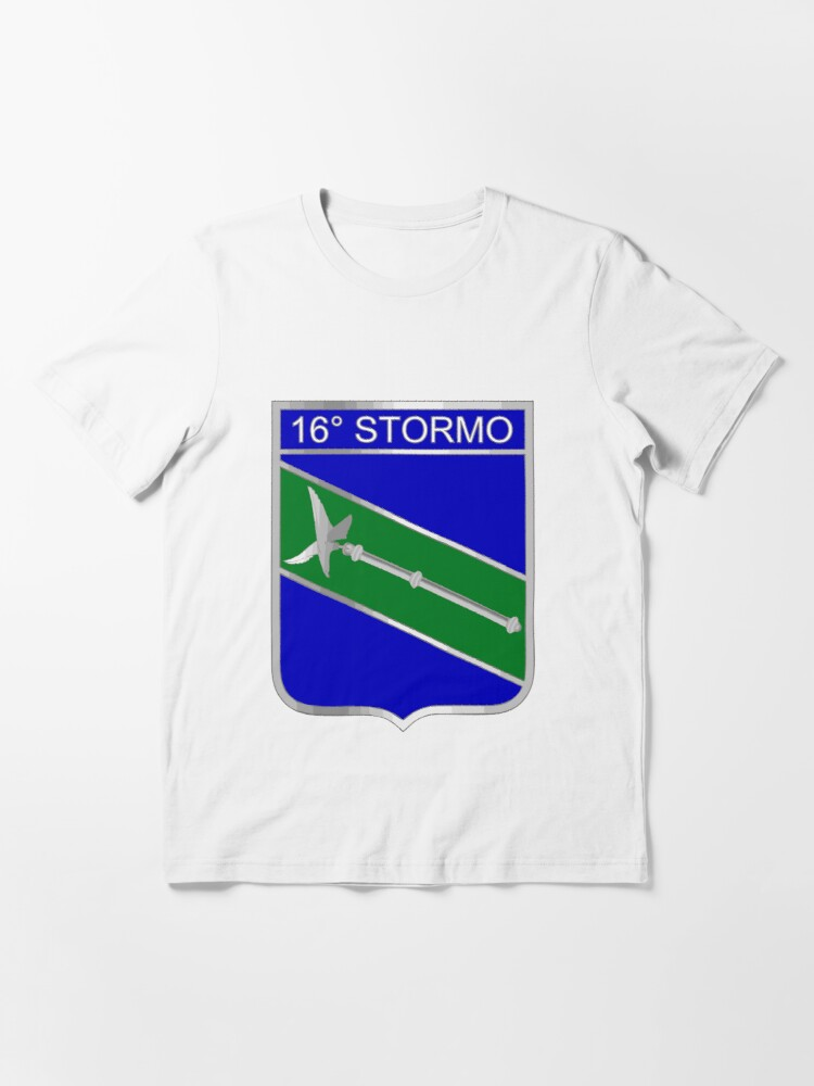 Alternate view of Model 126 - 16º Stormo Essential T-Shirt