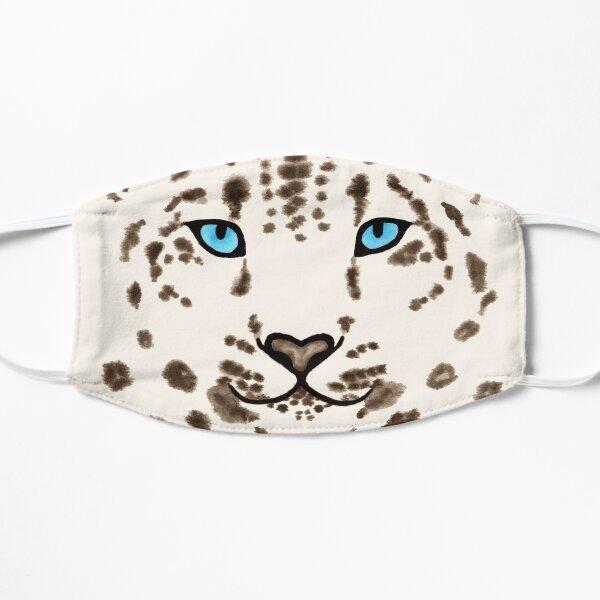 Watercolor Snow Leopard 2  Mask
