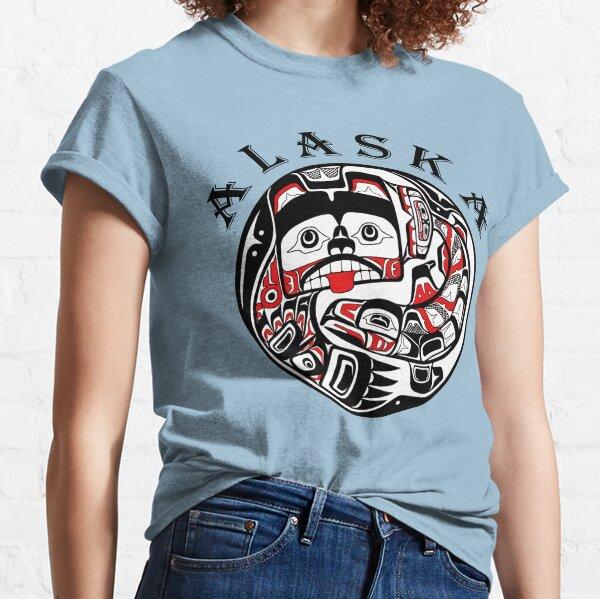 ALASKA - PNW bear and salmon Classic T-Shirt