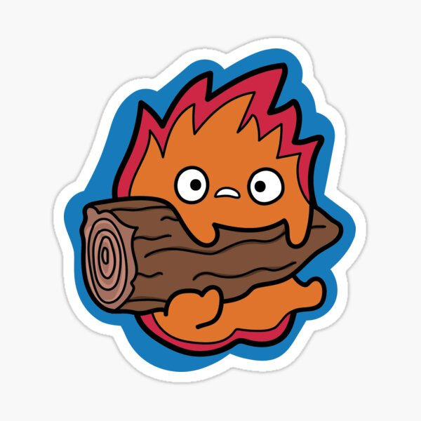 Calcifer Howl's Moving Castle Sticker