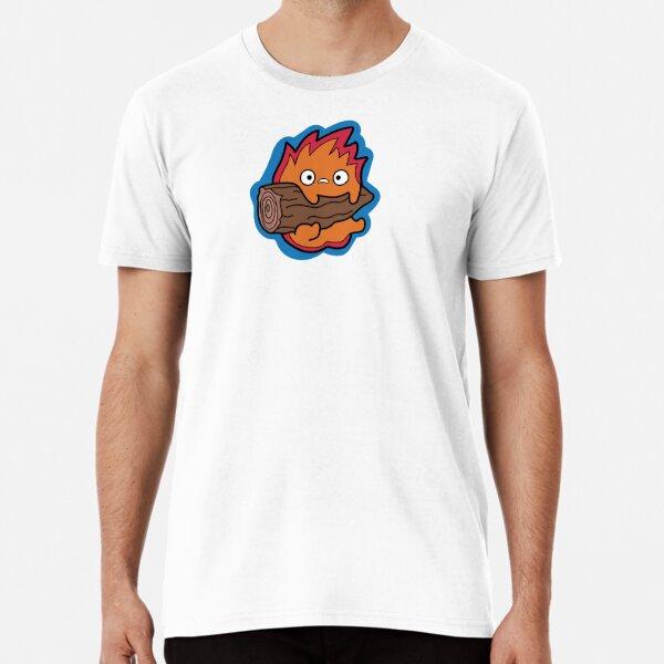 Calcifer Howl's Moving Castle Premium T-Shirt