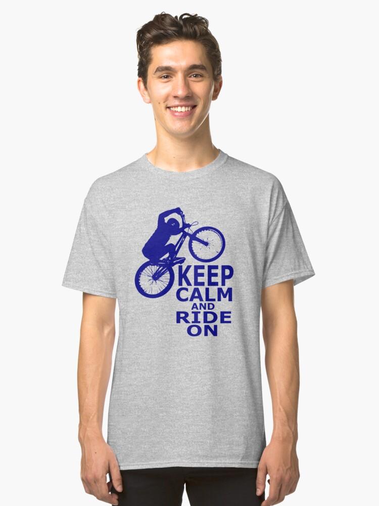 Mountain Bikes Classic T-Shirt Front