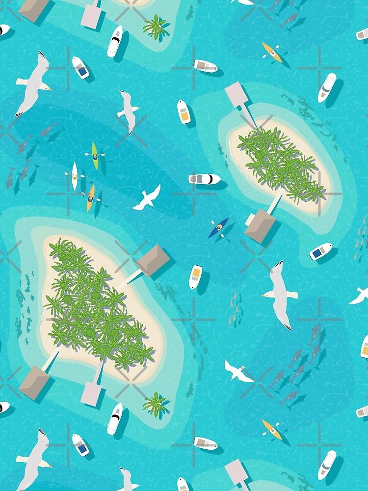 Tropical Islands by nadyanadya