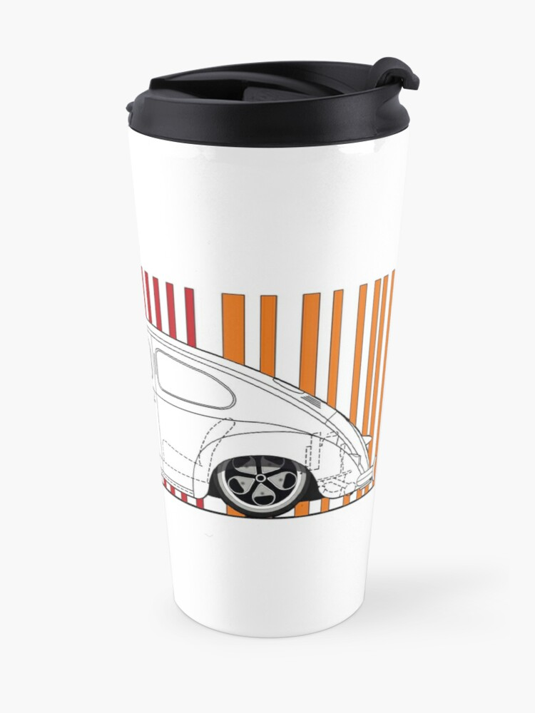 Alternate view of aircooled split Travel Mug