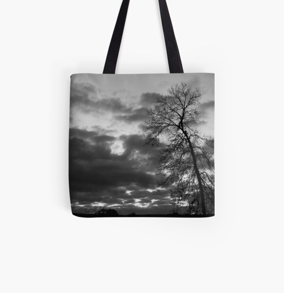 Crooked Tree All Over Print Tote Bag