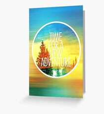 New Adventure 2.0 Greeting Card