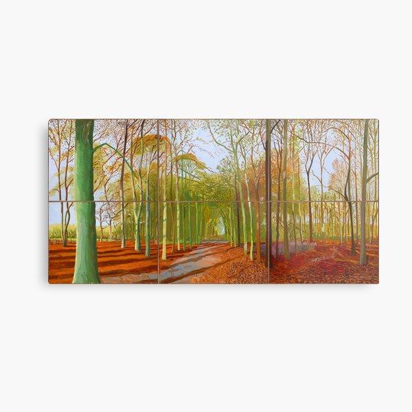 Woldgate David Hockney 2006 Metal Print