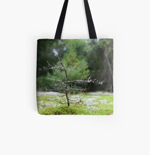 Tiny Tree All Over Print Tote Bag