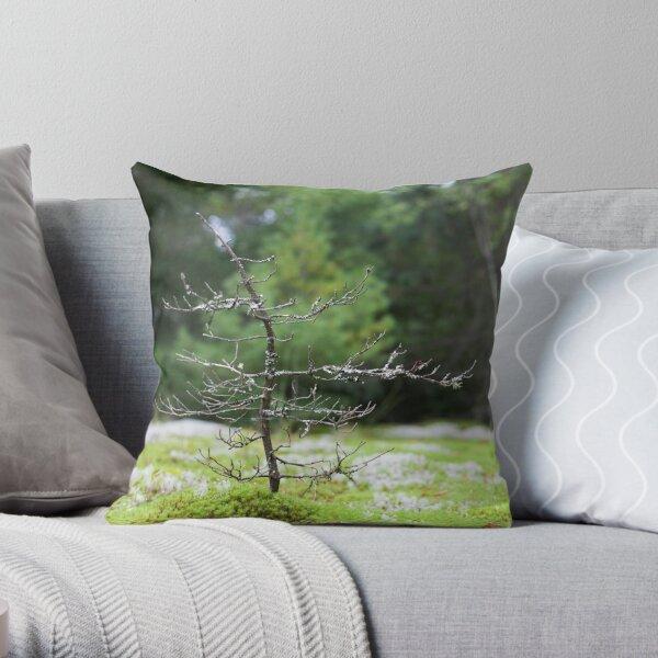 Tiny Tree Throw Pillow
