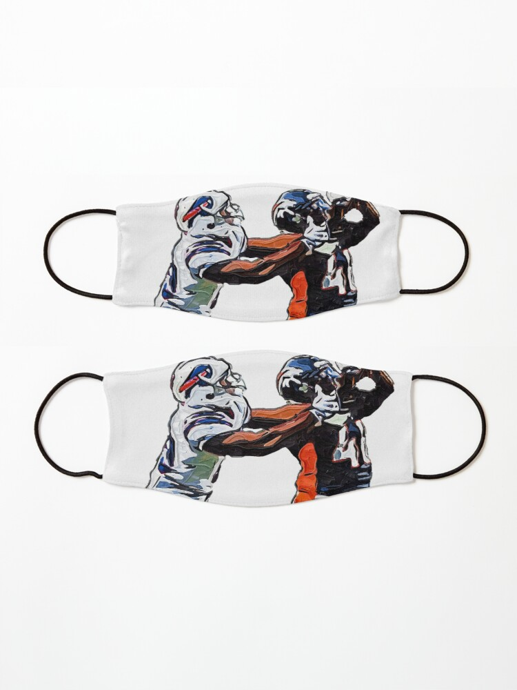 Alternate view of American Football Mask