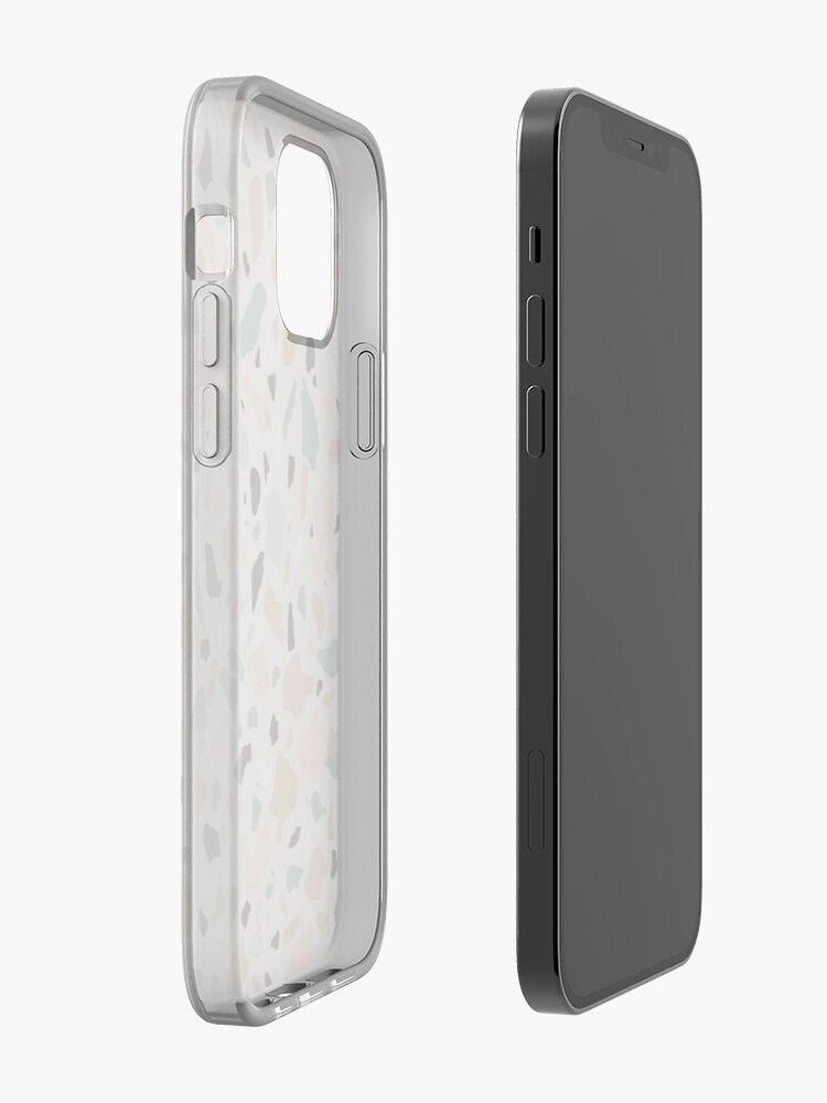 Alternate view of Pink Pastel Terrazzo iPhone Case & Cover