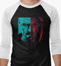HEISENBERG VS DEXTER Walter White Breaking Bad and Dexter Face Mash Up T-Shirt