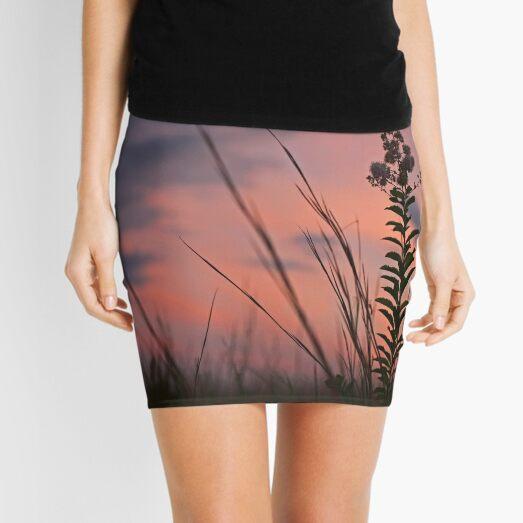 Spider Sunset Mini Skirt