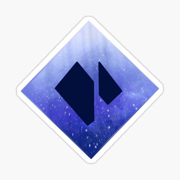 Dark Stasis Icon Sticker