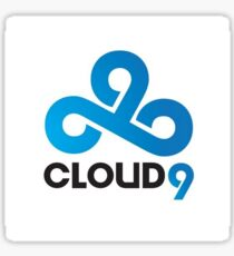 Cloud 9 Sticker Sticker