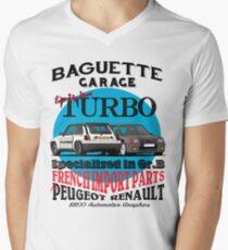 Baguette Garage Men's V-Neck T-Shirt