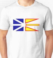 Flag of Newfoundland and Labrador, Canada. Unisex T-Shirt