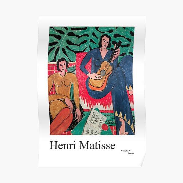 Henri Matisse Music Festival, French artist,  Poster