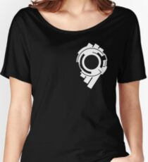 Ghost in the Shell - Public Security Section 9 Logo (White Logo) Women's Relaxed Fit T-Shirt
