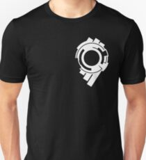 Ghost in the Shell - Public Security Section 9 Logo (White Logo) T-Shirt