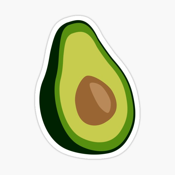 Avocat Sticker