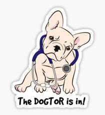 The DOGTOR is in! Sticker